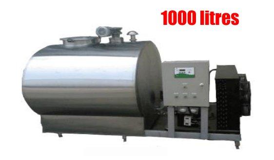 petit tank à lait de 1000 litres