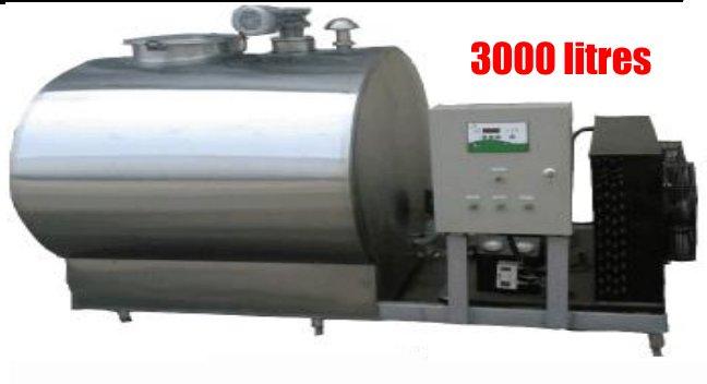 tank a lait de 3000 litres
